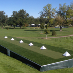 Synthetic Turf Artificial Grass & Lawns Tee Line