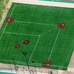 Synthetic Turf Artificial Grass & Lawns - 4.-Aerial-baseball