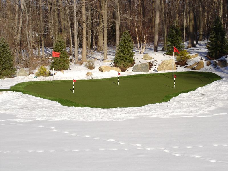 Winter Putting Green