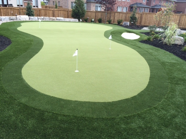Putting green installation scotland