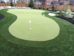 Featured Install: Synthetic Turf Putting Green in Toronto, ON