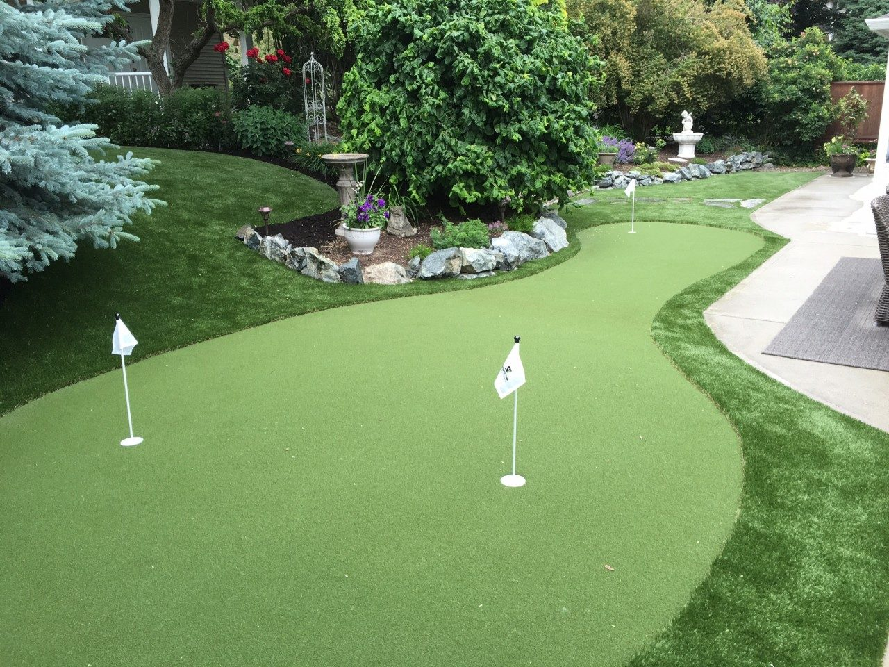 Backyard Synthetic Turf Project