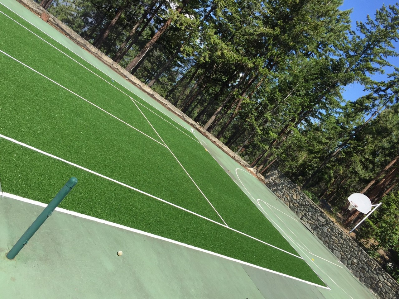 tennis synthetic turf