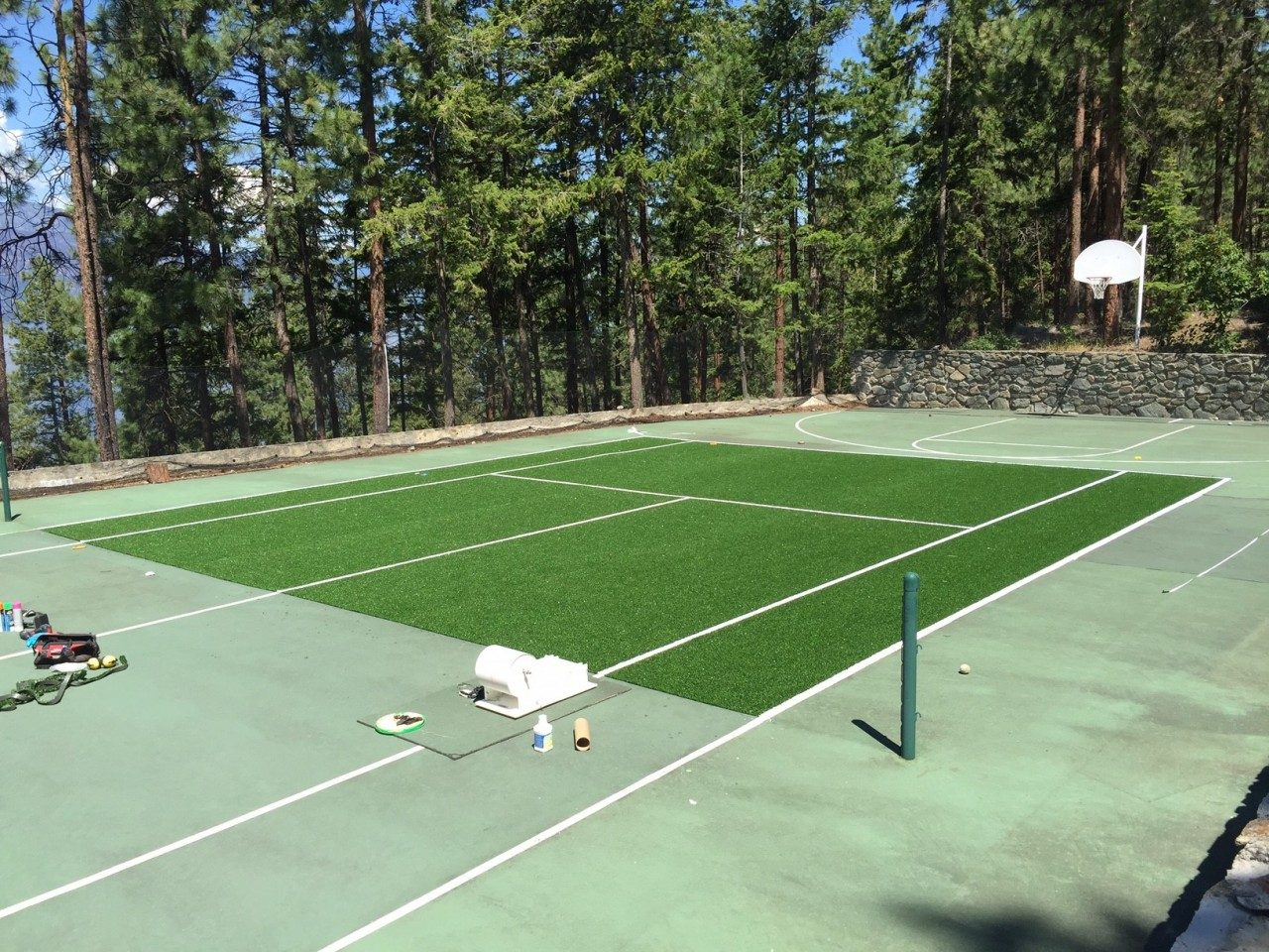 Read more on Tennis Court Athletic Synthetic Turf