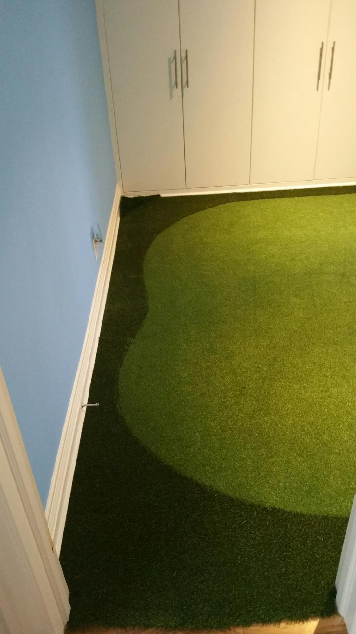 synthetic turf bedroom