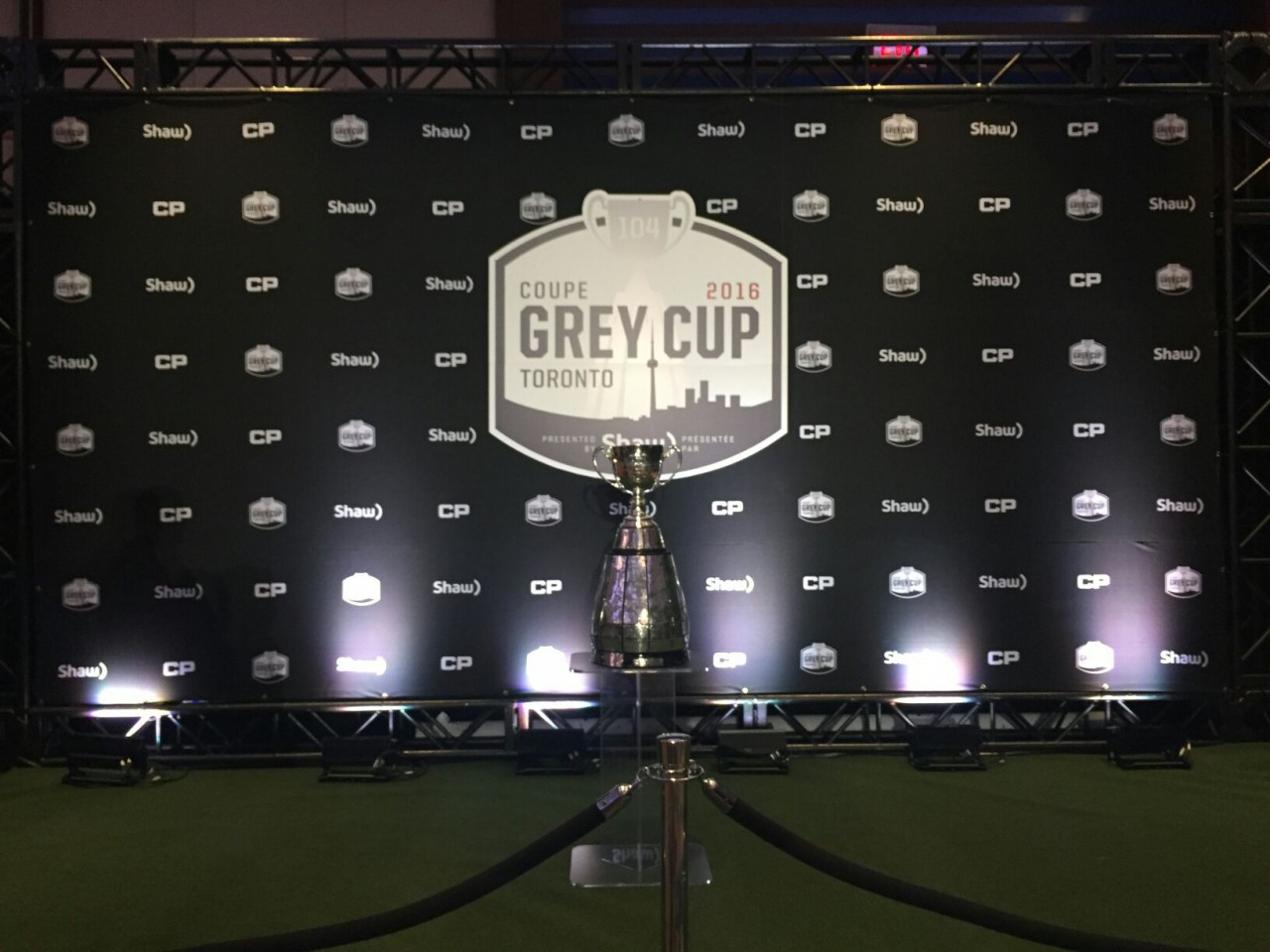 grey cup artificial turf