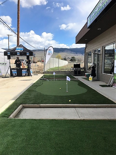 synthetic turf grand opening