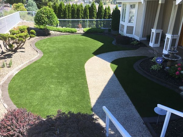 Synthetic Turf Backyard Transformations