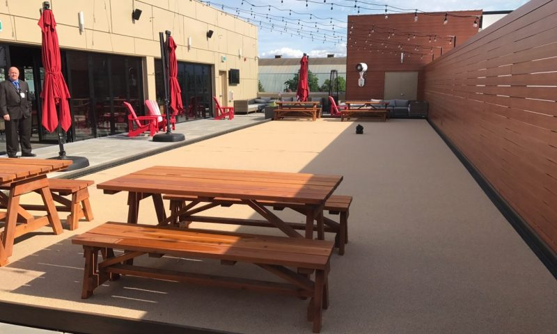 synthetic turf bocce