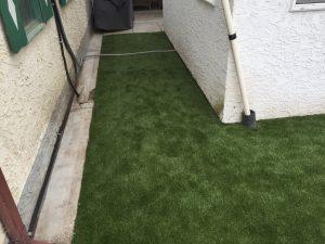 synthetic turf yard