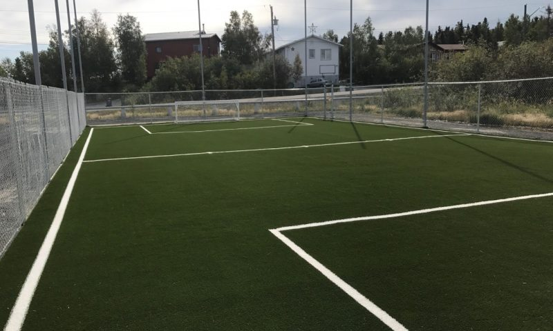 soccer field synthetic turf