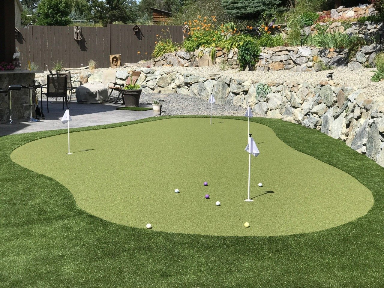 Read more on Synthetic Turf Backyard Putting Green