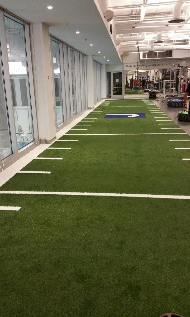 Synthetic Turf Flooring Options for Gyms, CrossFit Facilities and Athletic Facilities