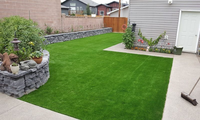 Read more on Lethbridge Artificial Turf Backyard Transformation