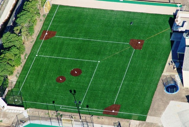 Artificial Grass & Turf | Synthetic Turf International | Baseball & Batting Cage Turf