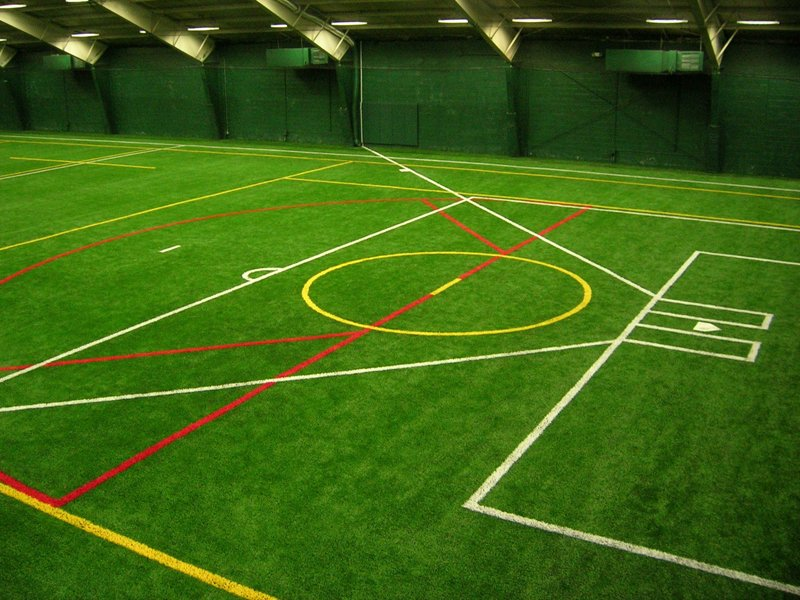 Artificial Grass & Turf | Synthetic Turf International | Indoor Sports Fields Synthetic Turf