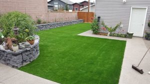 Lethbridge Residence Gets Synthetic Turf Makeover