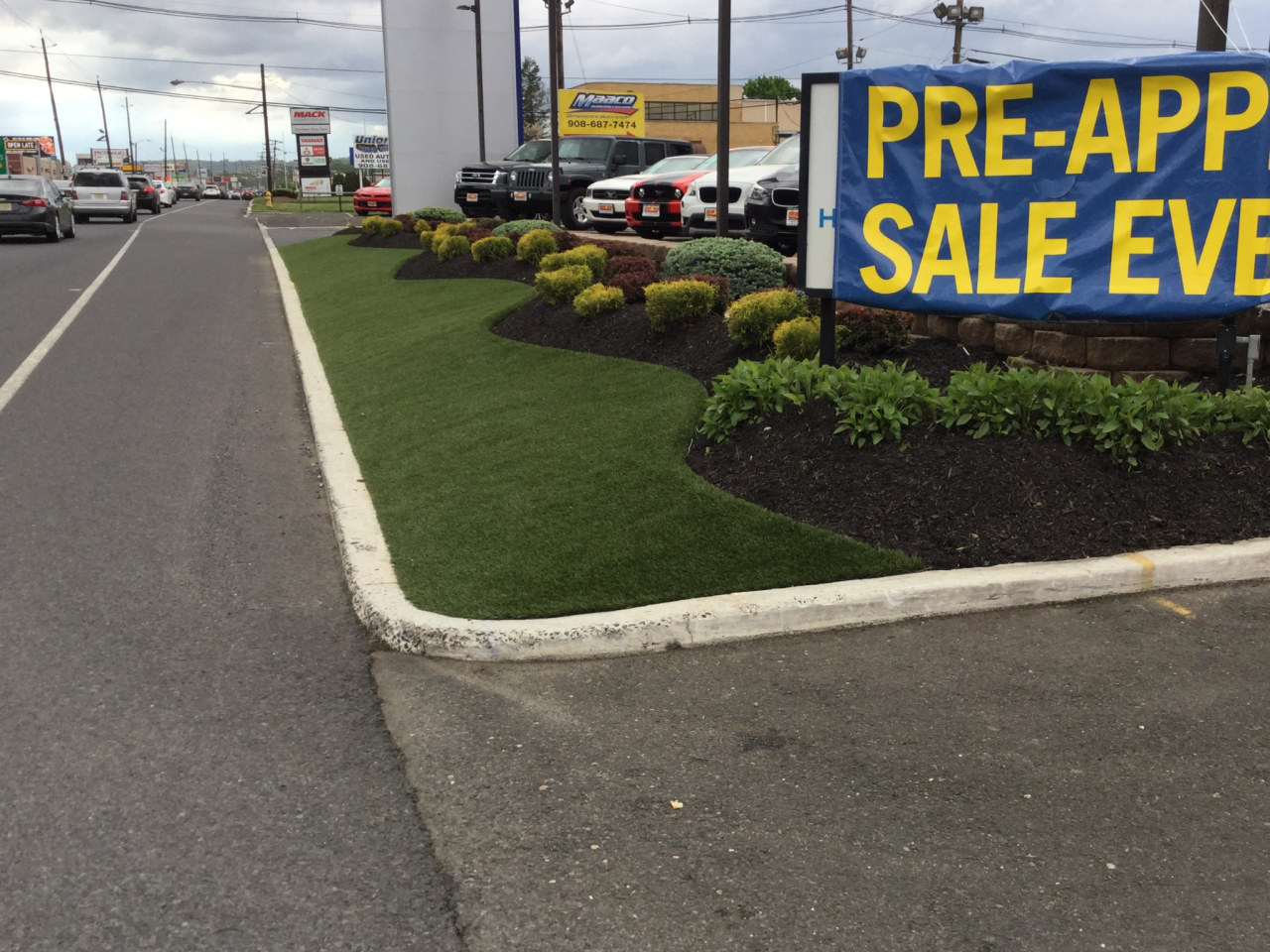 Read more on Synthetic Turf Boulevards Beautifying City Streets