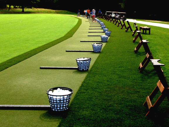Synthetic Turf Tee Line